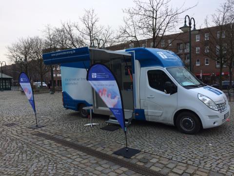 Beratungsmobil der Unabhängigen Patientenberatung kommt am 13. September nach Norderstedt.