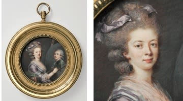 Nyförvärv: Sällsynt porträttminiatyr av Adélaïde Labille-Guiard