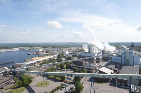 Skoghall Mill in Sweden