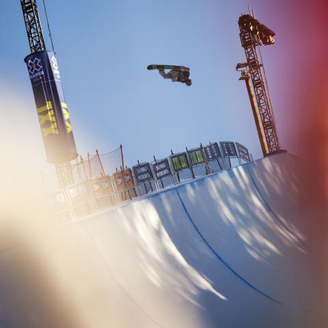 Danny Davis under Xgames i Oslo Vinterpark