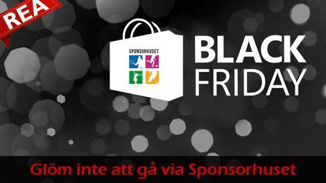 HuFF tipsar om Black Friday - glöm inte att gå via Sponsorhuset om du handlar på nätet! Du får pengar tillbaka!