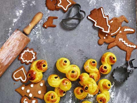 Mer hållbart julbak – med klimatvänligare mjöl