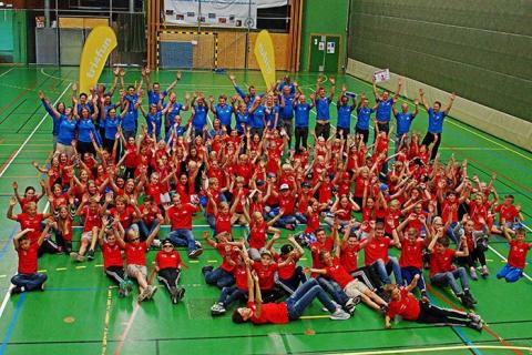Sveriges största triathlonläger för unga intar Väsby