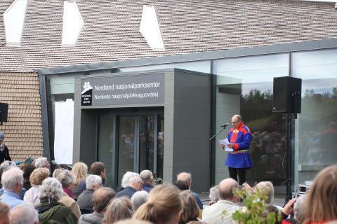 Her åpner sametingspresident Egil Olli Galleri Adde Zetterquist sommeren 2013. Nå blir det mer utvikling på Storjordsområdet.