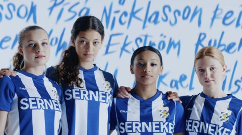 IFK matchtröja