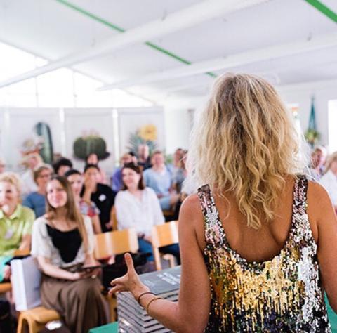 Gudy Herder holder trend foredrag og workshops i hele Europa