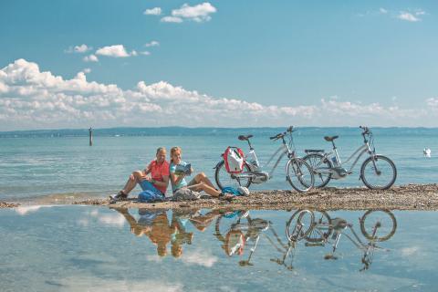 St.Gallen Bodensee: Pause am Bodensee bei Rorschach