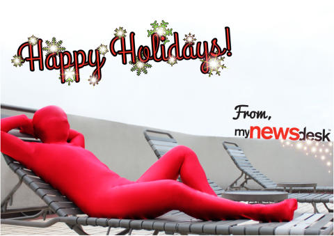 Kick back, relax and have a Merry Christmas. Happy Holidays!