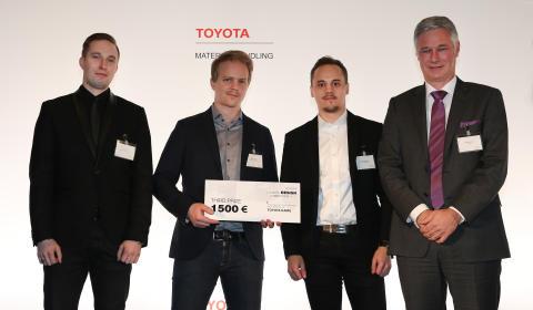 Toyota Material Handling Finland Oy -  Suomalainen muotoilu menestyi jälleen maailmalla