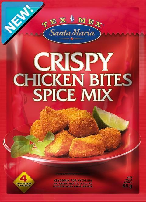 Santa Maria Tex Mex Crispy Chicken Bites Spice Mix