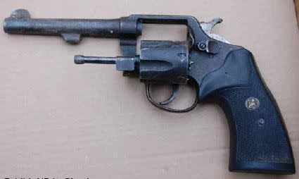Pistol recovered