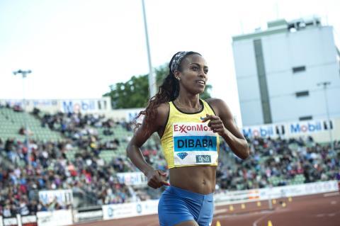 Världslöperskan Genzebe Dibaba är klar för BAUHAUS-galan