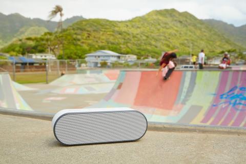 Tragbares Hörvergnügen für unterwegs: Die neuen Lautsprecher von Sony sorgen überall für tollen Sound