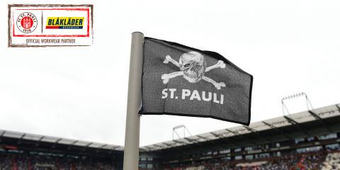 BLÅKLÄDER – NY SPONSOR TILL DEN LEGENDARISKA FOTBOLLSKLUBBEN ST PAULI