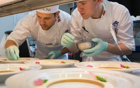 Worldchefs Brings Global Young Chefs Challenge Finals to Sirha, Lyon 2017