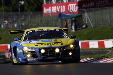 Dubbelseger för Audi i Nürburgrings legendariska 24-timmarslopp