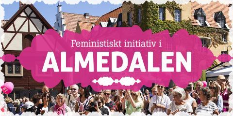 NU i Almedalen: Inga nazister på våra gator -  F! manifesterar för att trygga allas rätt att ta plats