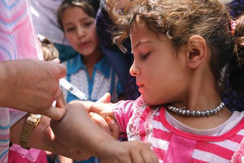 UNICEF - vaccinering