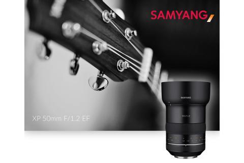 Samyang lanserar 50mm f/1.2 för Canon fullformat