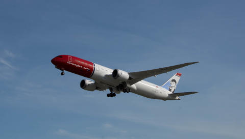 Norwegian's subsidiary Norwegian Air International Receives Tentative Approval to fly to the United States