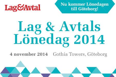 Lönedag 2014 Göteborg