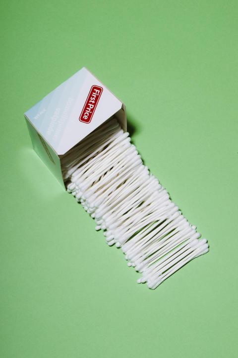 De nye bomullspinnene er nå å finne i KIWI-butikker over hele landet.