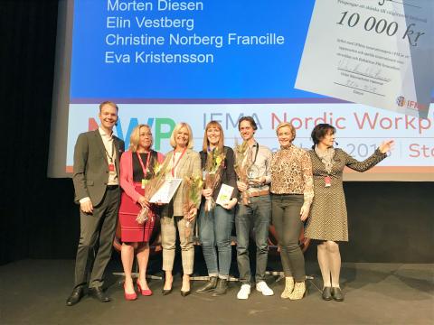 Stolta partners till vinnare av innovationspris