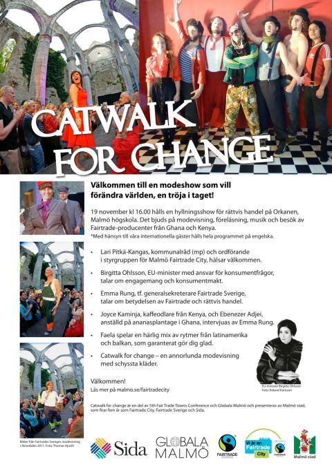 Program Catwalk for Change 19/11-2011