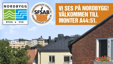 5-8 april. Känn på FuranFlex/VentilFlex i verkligheten! Kostnadsfri biljett till Nordbygg nedan.