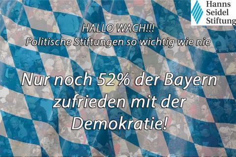 Umfrage: Immer mehr Wechselwähler in Bayern – starke Zunahme an politischem Interesse - Abnahme derjenigen, die sich für politisch informiert halten