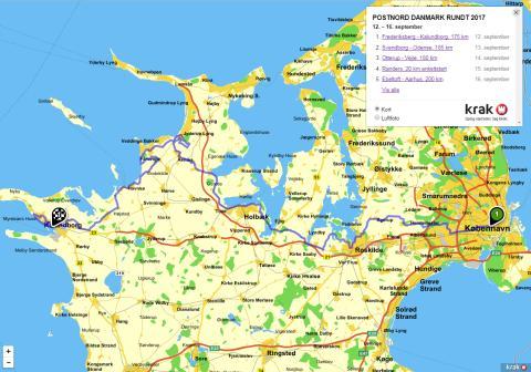 PostNord Danmark Rundt 2017 - 1. etape