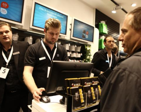 Fem nya jobb till Karlstad när mobiloperatören 3 öppnar ny butik i Bergvik