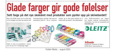Annonse WOW Dagbladet 12 august
