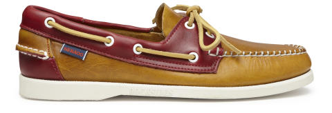 Sebago Horween Yellow/Red