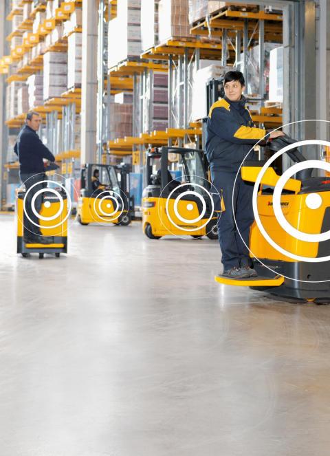 Ny modul i Jungheinrichs övervakningssystem för truckar