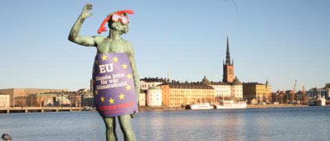 ActionAid uppmanar Europa att betala klimatskulden
