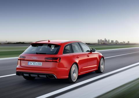 Audi RS 6 Avant rear
