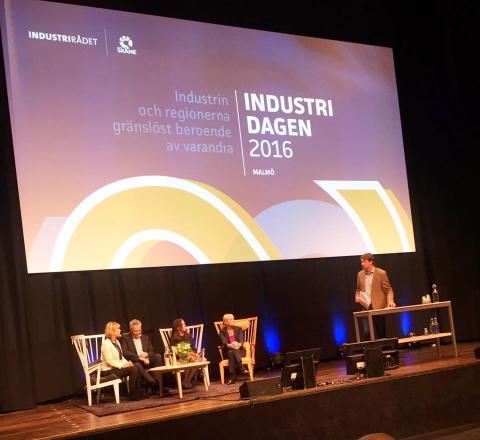 Bona på Industridagen 2016