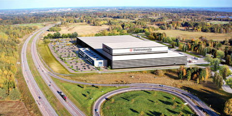 Elektroskandia väljer STANLEY Security som tjänsteleverantör av deras totala säkerhet för sitt nya centrallager i Örebro