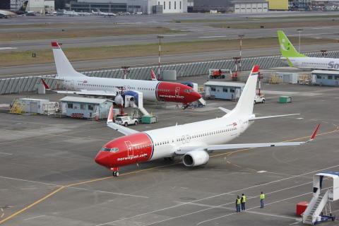 Norwegian fasar in nya flygplan i rekordfart