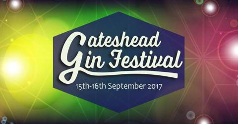 Gateshead Gin Festival – 15 & 16 September
