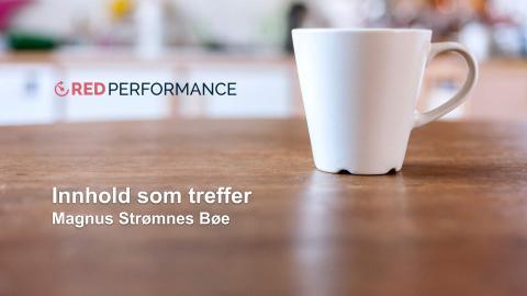 Innhold som treffer - Magnus Strømnes Bøe