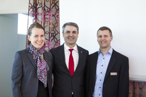 Uppsalahems energiarbete väcker intresse på regeringsnivå!