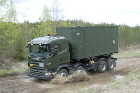 Scania blandt de sidste fire