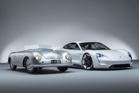 Tradition and future of Porsche.