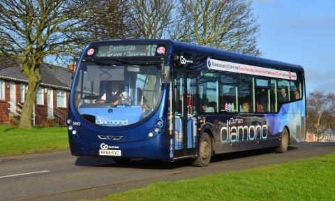 £1.6m investment in new buses for Durham Diamond