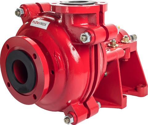 Flowrox Launches New Centrifugal Slurry Pump