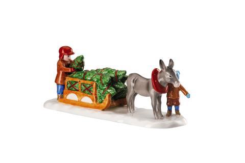 HR_Weihnachtsmarkt_2019_Figur_Esel_mit_Schlitten_seitlich