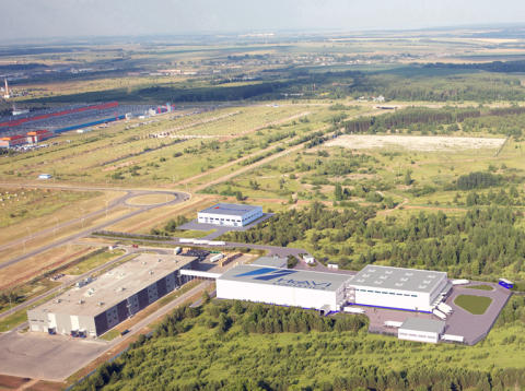 HAVI Logistics distributionscenter i Tartastan, Ryssland