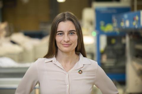 Louise Elver, CSR-chef, Berendsen